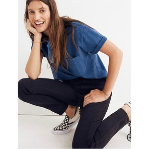 "Madewell Sz 27 Petite 10"" High-Rise Skinny Jeans"